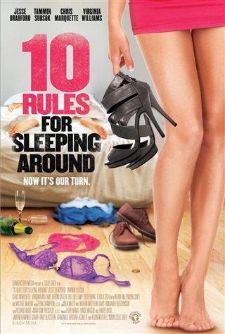 "Poster for the movie ""10 Rules for Sleeping Around"""